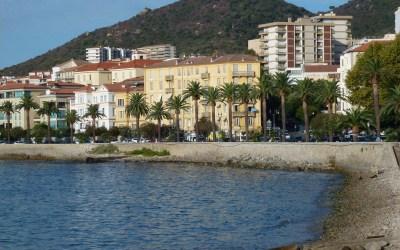 Corse ; d'Ajaccio à Porto Pollo puis direction Propriano. Plus un petit tour sur la route de Bonifacio