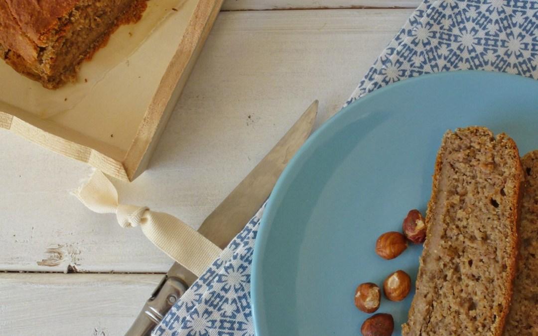 Pain de banane à la farine de souchet ( Sans gluten, Vegan, sans sucre ajouté )