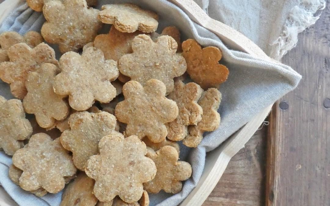 Cookies à la farine de châtaigne  ( Sans gluten, vegan )