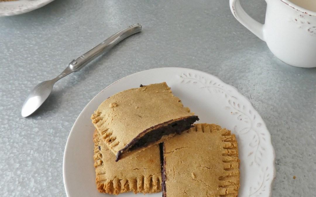 Petits fourrés choco-myritlles   ( Sans gluten )