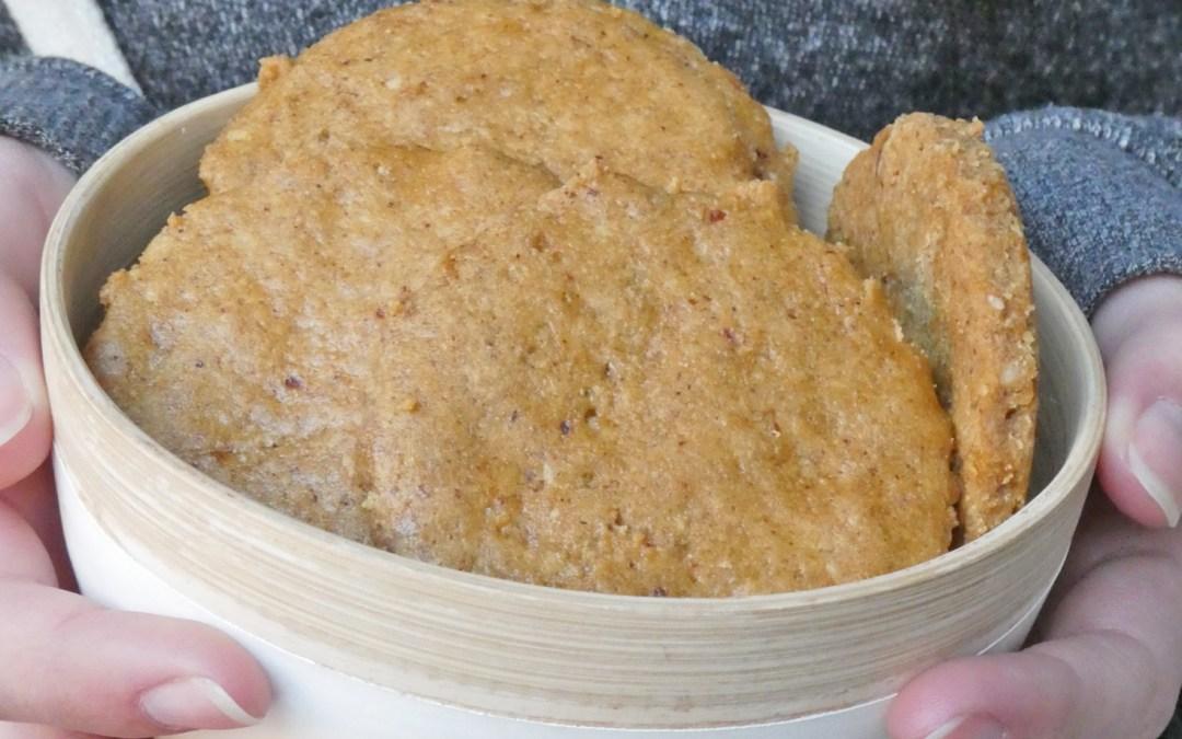 Cookies à la «crème fraiche», farine de riz et petit épeautre  ( Vegan )