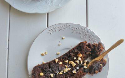 Gâteau au cacao et tofu soyeux  ( Vegan, sans gluten )