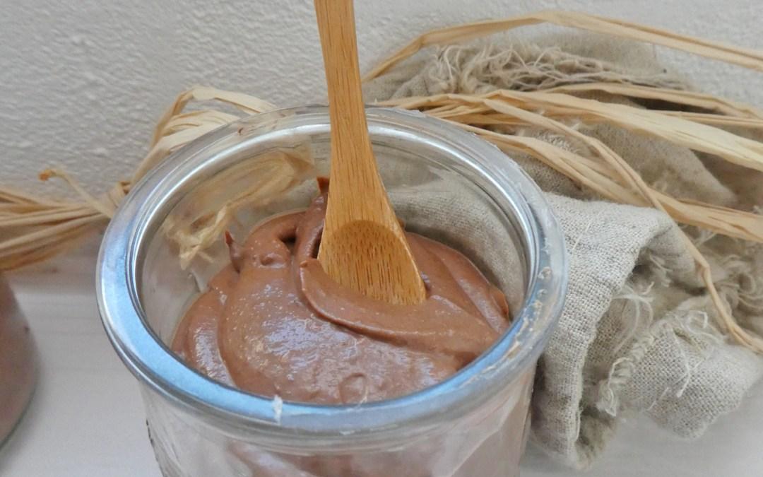 Crème chocolat au tofu soyeux ( Vegan,sans sucre ajouté, allégée )