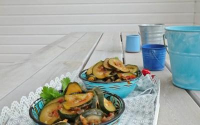 Courgettes comme au Maroc ( ou presque…)
