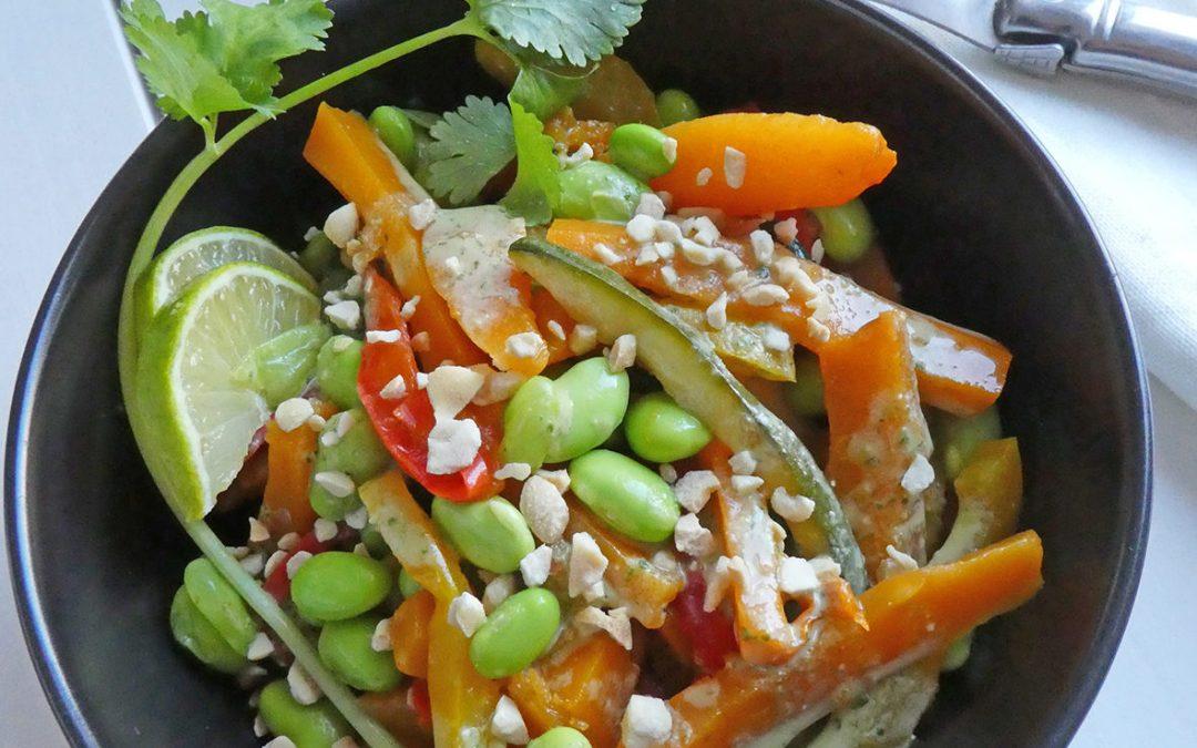 Poêlée de légumes façon thaï (  Vegan, sans céréales, léger )