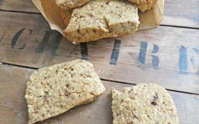 Biscuits au petit goût de noisette ( Sans gluten, vegan )