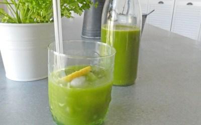 Jus de légumes ou boisson détox… ( à l'extracteur ou centrifugeuse)