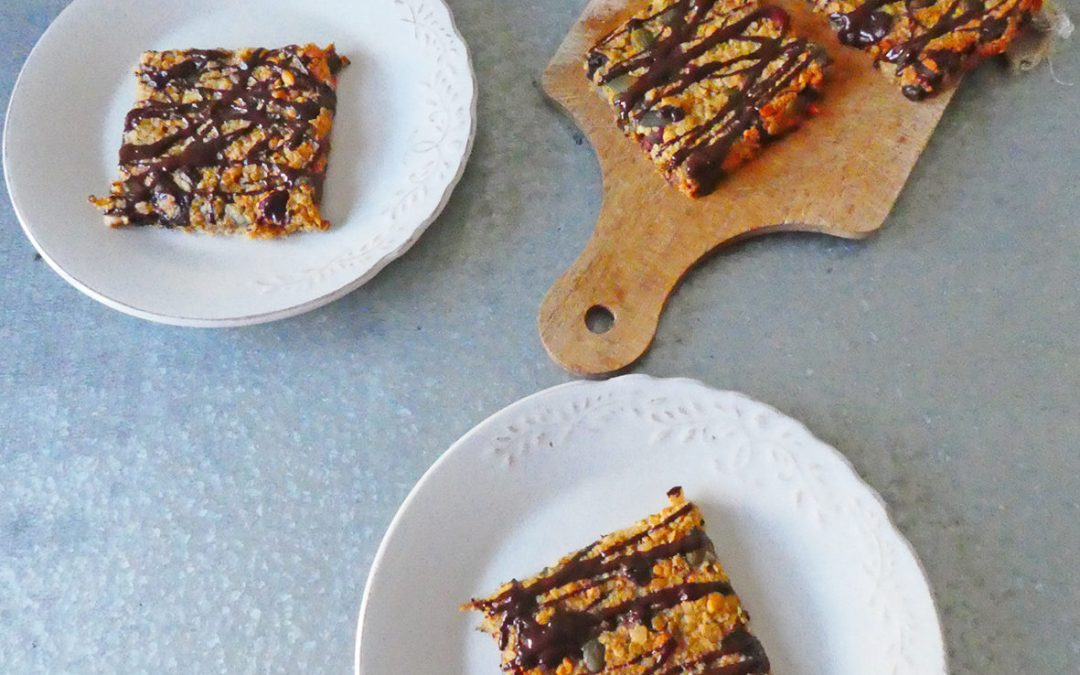 Biscuit granola sucré au sirop d'agave  ( Vegan, allégé )