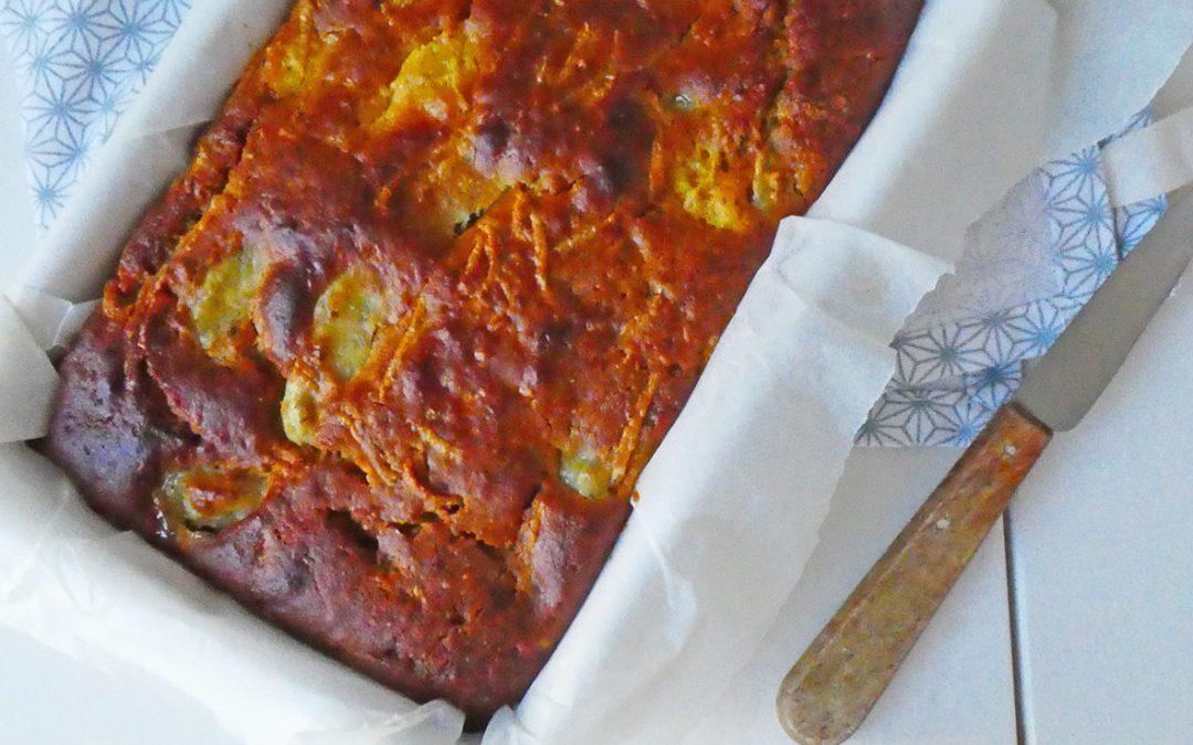 Gâteau moelleux aux agrumes et à l'huile d'olive ( Index glycémique contrôlé, sans gluten )