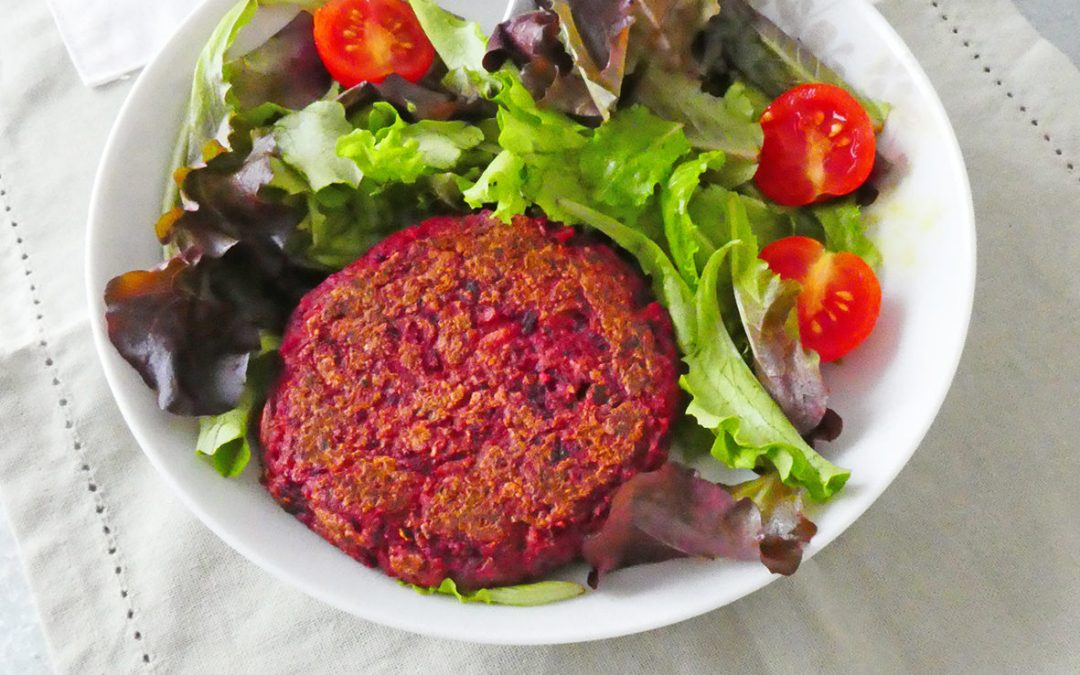 Galette ou steak végétal  ( Vegan, option sans gluten )