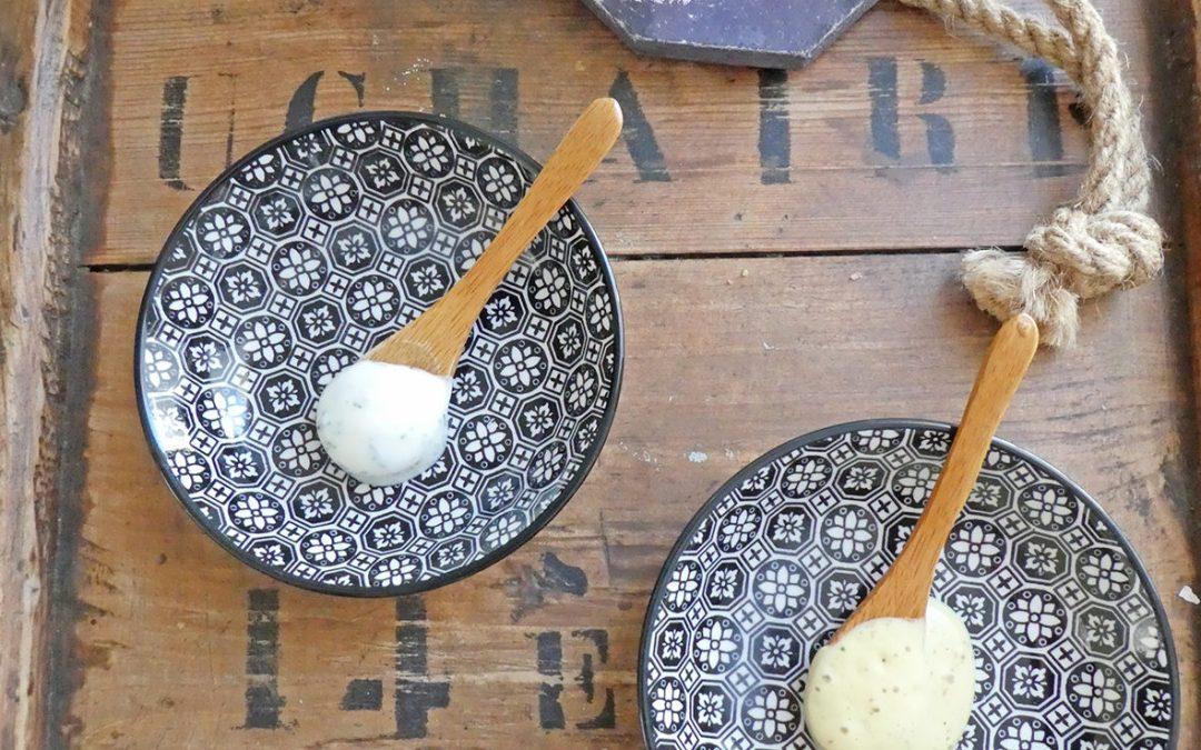 Deux idées de sauces ou vinaigrettes légères ( vegan )