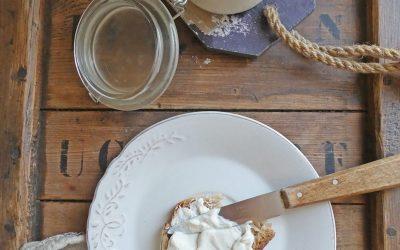 Fromage à tartiner aux yaourts de soja (léger, vegan)