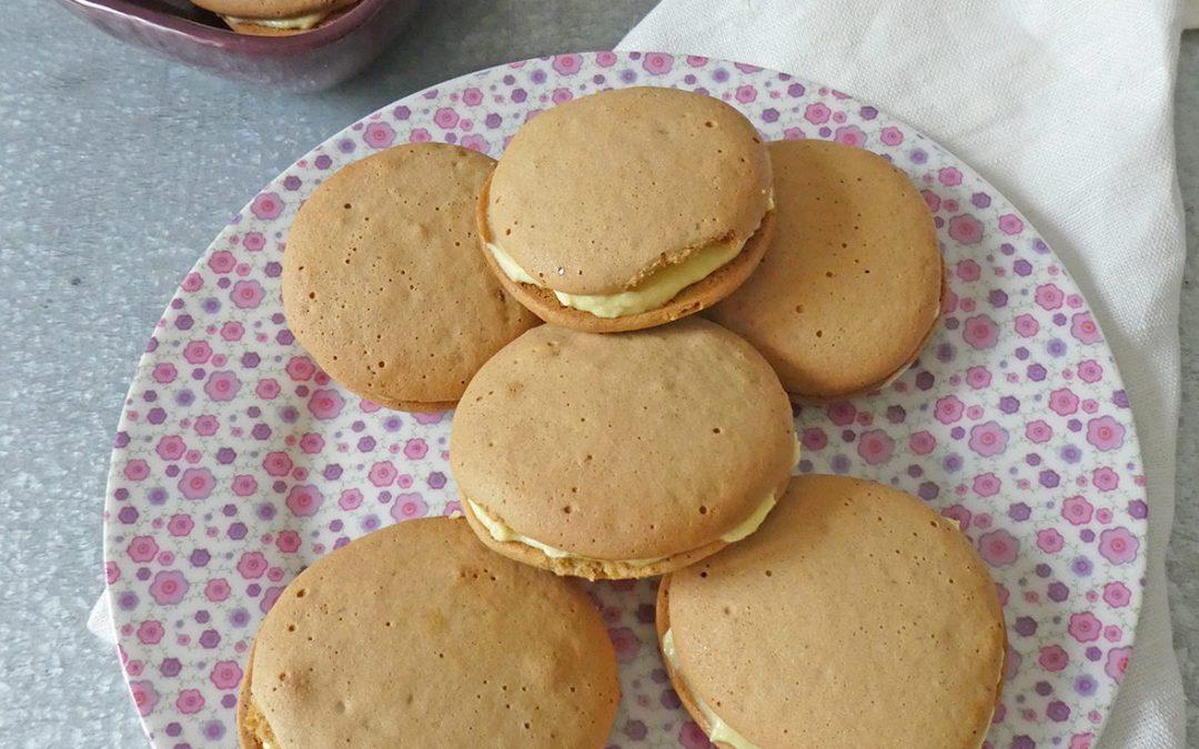 Biscuits fourrés au beurre de mangue ( Sans gluten )