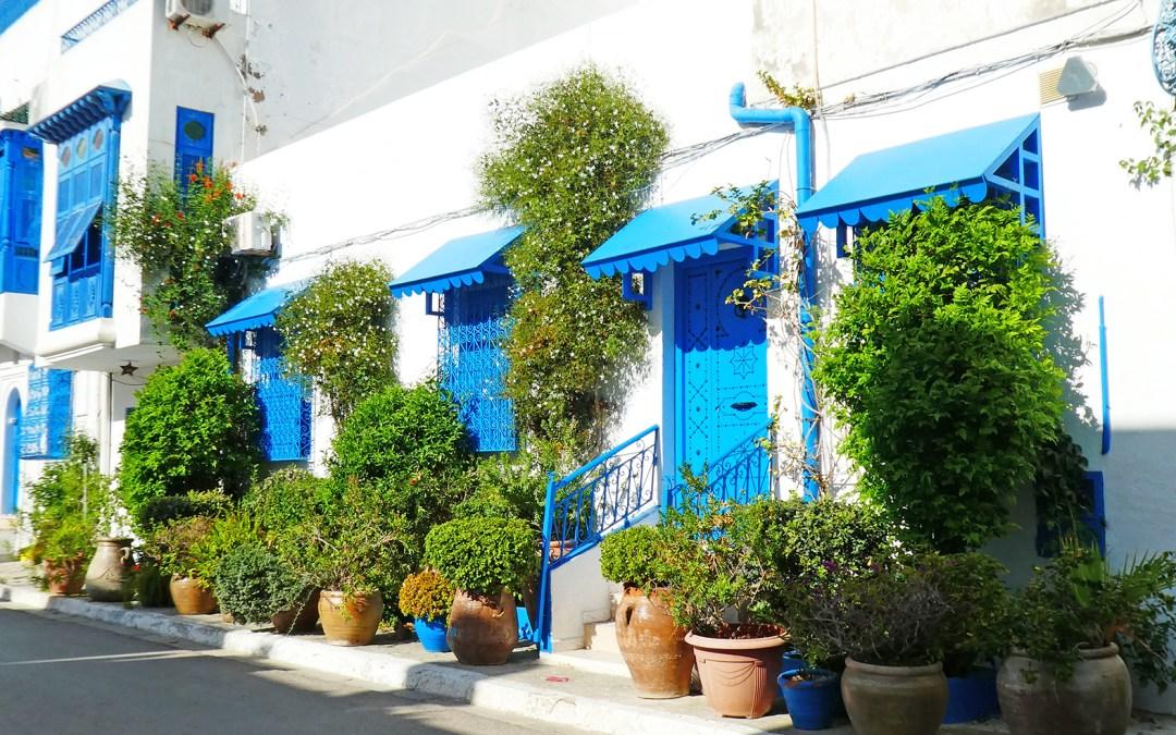 Tunisie, #1 Nord Est de Tunis, un petit tour à Sidi Bou saïd