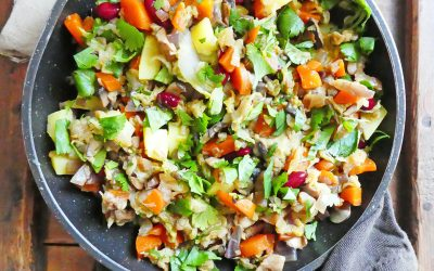 Poêlée de légumes au chou chinois ( Léger, sans céréales, vegan, sans gluten )