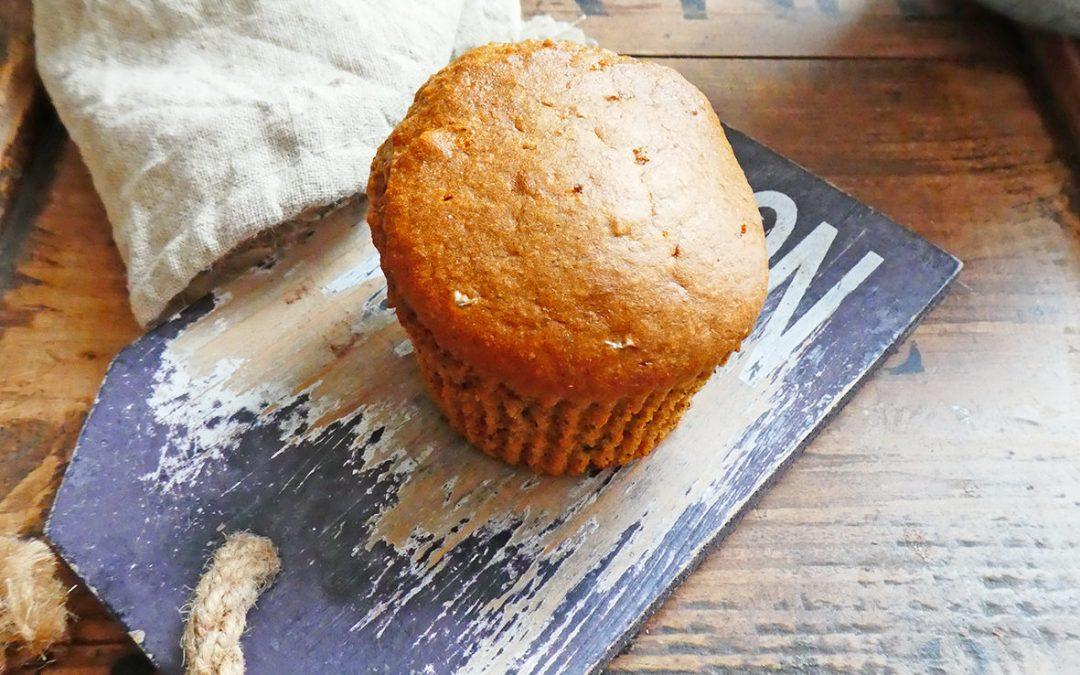 Muffin aux noix, noisettes et  blé ancien