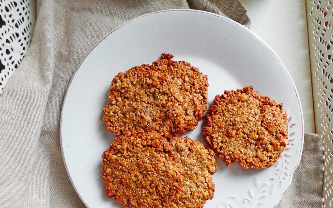 Cookies aux flocons de sarrasin ( Sans gluten, sans céréales  )