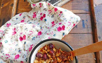 Healthy granola, plus léger et sans sucre ajouté