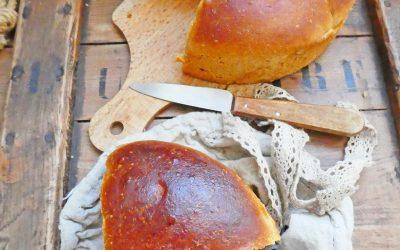 Brioche saine, plus légère, à la farine T80 et huile d'olive ( Vegan )