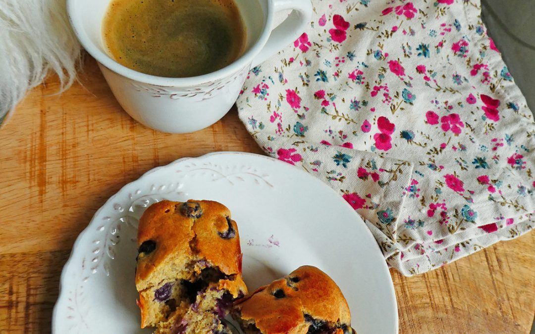 Petits gâteaux aux myrtilles ( Allégés )