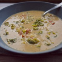 Beer and Bacon Broccoli Cheddar Soup