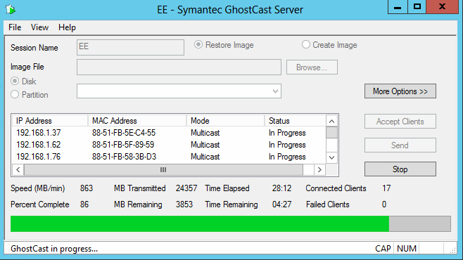 Synology NAS and Ghostcasting - Kiwidget
