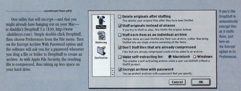 Stuffit-Encryption
