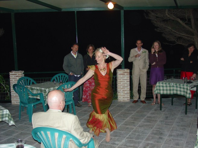 My bride dances for me