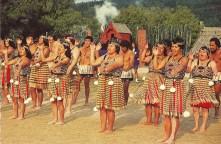 Maori dance performance