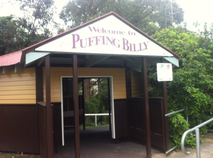 Puffing Billy entrance
