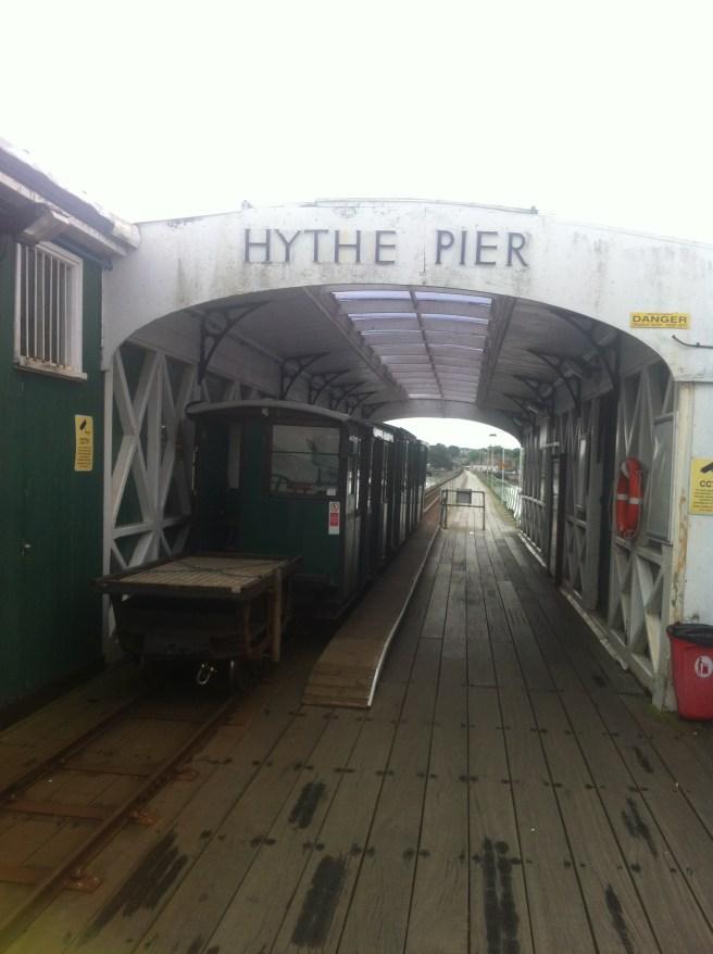 Beginning of the pier