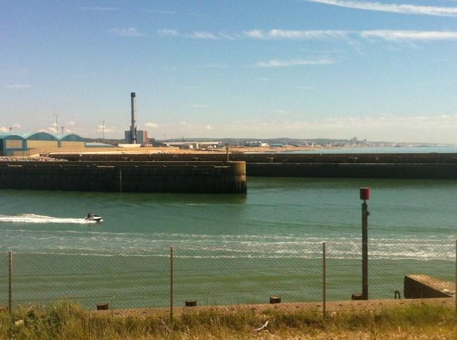 View towards Brighton