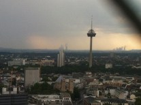 Great view if a little grey of Cologne