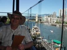 Had a lovely lunch on Granville Island