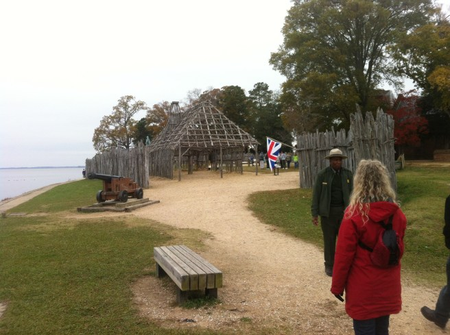Jamestown Fort which was small