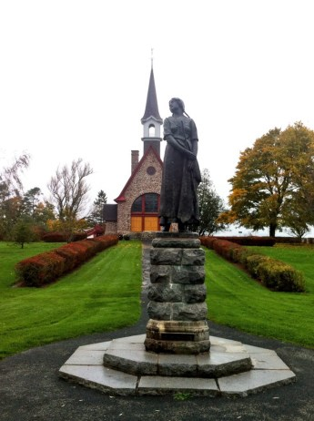 Grand Pre statute of Evangaline
