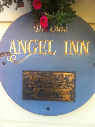 Angel Inn oldest tavern in Canada