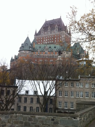 Famous Quebec landmark hotel