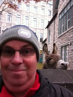 A Quebec native sneaks up on me