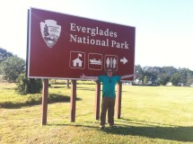 Entrance to Everglades Park