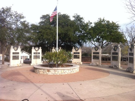 Predisdents Plaza who served in WWII