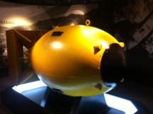 Atomic bomb casing