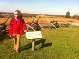 Manassas Battleground near Washington, DC