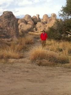 Wandering around City of Rocks State Park