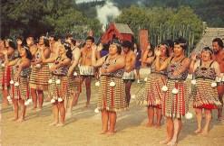 Maori dancing