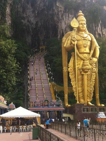 Batu Cave steps