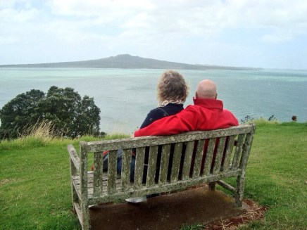 Great view of Rangitoto Island