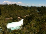 Huka Falls from road lookout