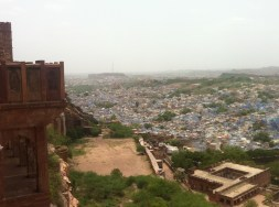 A view from the fort