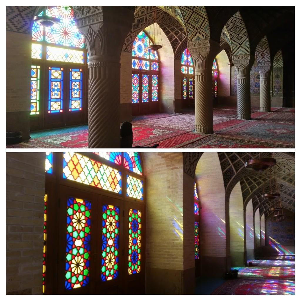 Nasir-al Molk Mosque, Shiraz.